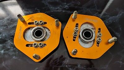 Yellow Speed Racing Top Camber Mount Pair For Honda Civic Ep2 Ep3 Type R Dc5