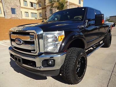 Ford Super Duty F-250 Pickup Lariat 2011 Ford Superduty F250 Lariat Crew Cab 4x4 6.2L Flex Fuel V8 Engine