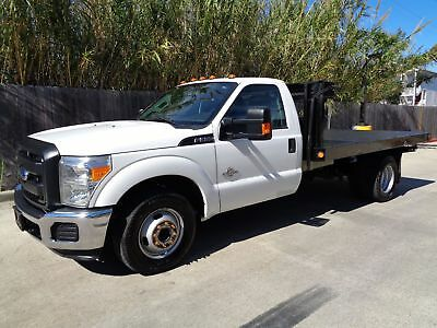 Ford Super Duty F-350 DRW Chassis Cab XL Dump Body Flatbed 2015 Ford Superduty F350 DRW Chassis Cab Dump Body Flatbed 6.7L Powerstroke