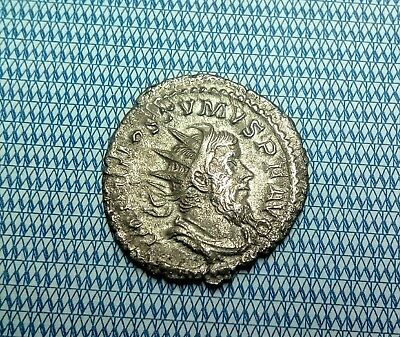 Roman Silver Coin, Unresearched , Metal Detecting Find, In Very Nice Condition..
