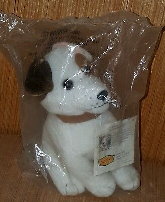 "1999 Big Feats Wishbone Jack Russell Terrier Talking Puppy Dog 6"" Plush New"