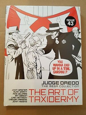 JUDGE DREDD: The Mega Collection: Vol 72 The Art Of Taxidermy.