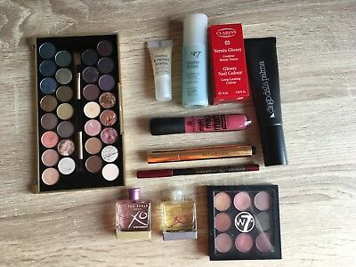 Makeup Beauty Cosmetic Bundle Inc- Ysl, Clarins, Essence, Ted Baker, Rrp £105!!!