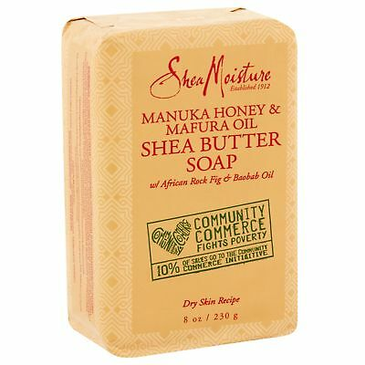 Shea Moisture Manuka Honey & Mafura Oil Shea Butter Bar Soap - 8 oz