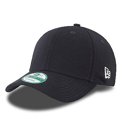 New Era 9Forty Classic Basic Plain Cap Curved in Black, Blue ,Red Various *BNWT*