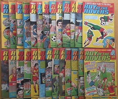 1987 Roy of the Rovers Holiday Special plus 29 Consecutive Copies all 1987