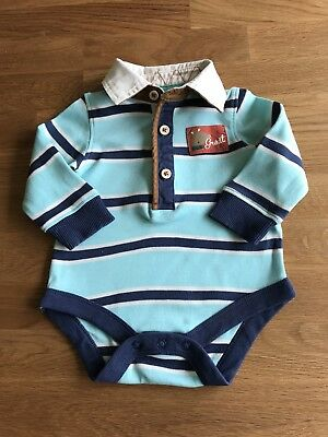 Marks and Spencer Baby Boys Polo Shirt Bodysuit, 3 - 6 Months.