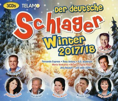 Der Deutsche Schlager Winter 2017/18 Box-Set