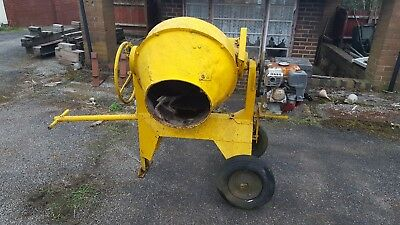 cement mixer bedford with Honda engine petrol