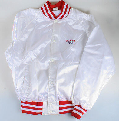 Canon Video Jacket White And Red Xl New