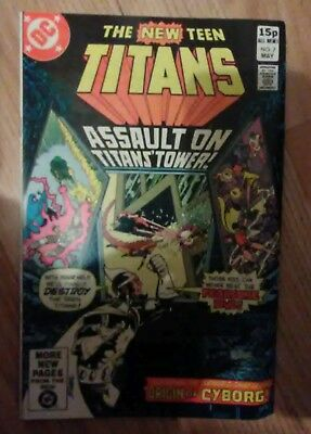 New Teen Titans Vol 1 #7 (1981) Fearsome Five VF+ Combined P&P Available
