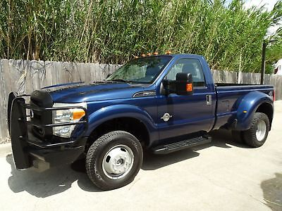 Ford Super Duty F-350 DRW Pickup XL 2011 Ford Superduty F350 XL 4x4 Regular Cab 6.7L Powerstroke Turbo Diesel