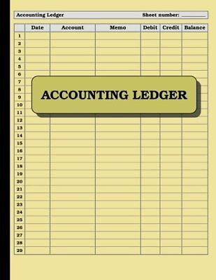 Account Book Journal 120 Pages Ledger Record Keeping Home Business Office