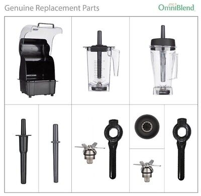 JTC OMNIBLEND SPARE PARTS: Jugs,Drive Socket, Blades, Wrench, Sound Enclosure