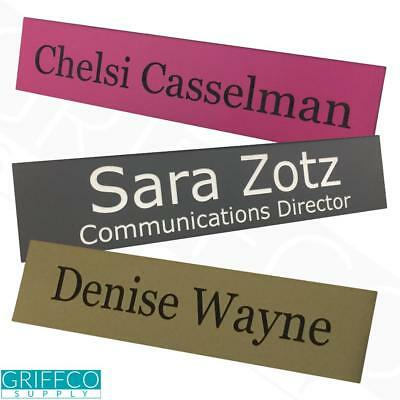 Personalized Name Plate - No Holder - 2x8