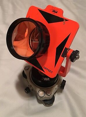 Seco 6440 Reflector Prism + Tribach w/ Optical Plum + Soft Case