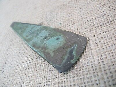 Rare Early Bronze Age Celtic Flat Axe Head - 2500 - 2000 B.C. (COA) Adze