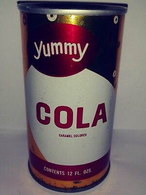 Yummy Cola Pull Tab Soda Can - Melrose Park, Il!!!