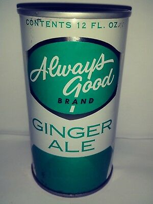 Always Good Ginger Ale Pull Tab Soda Can - Springfield, Mo!!!