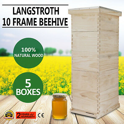 10-Frame Bee Hive - Free Shipping!