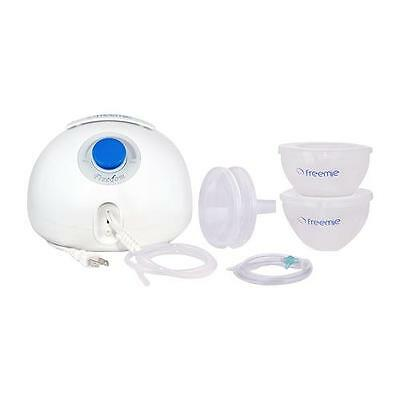 New Freemie Freedom Electric Breast Pump with Hands-Free Concealable Cups,