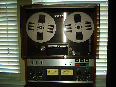 Teac A-4300SX Auto Reverse Reel to Reel Tape Deck..