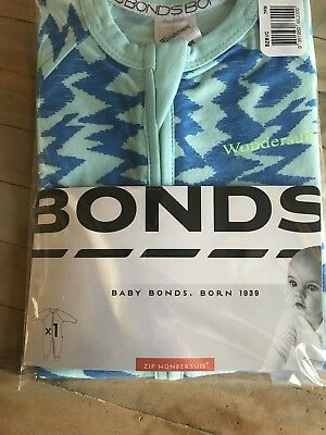 Bonds Wondersuit 000 BNWT
