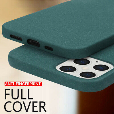 For iPhone XS Max XR X 8 Ultra-thin Matte Soft Silicone Case Rubber Plush Cover