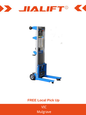 Lift height 3m/181kg winch operated aluminium duct lifter aircon garage doors