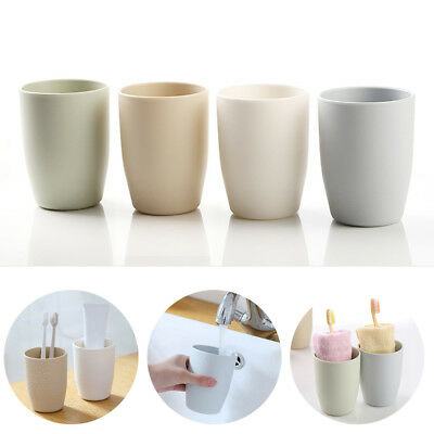 Toothbrush Toothpaste Holder Cup Plastic Rinsing Mug Brush Storage Box Organizer