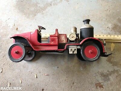 BUDDY L FIRE ENGINE. vintage buddy L pressed steel toy truck,rare buddy L 1933's
