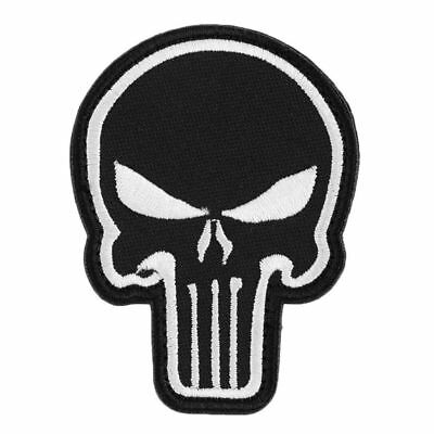 Punisher Skull Velcro Morale Patch | Tactical Gear for Pouches & Bags