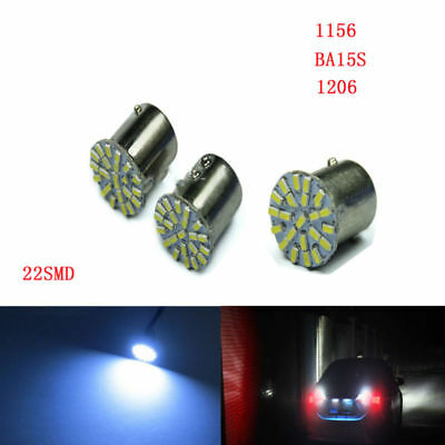 10X 1156 BA15S 22SMD 1206 Car Backup Turn Brake  auto turn signal reverse light