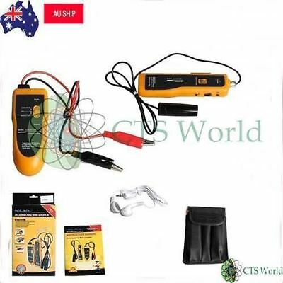 Tandem Au Ship Nf816 Underground Wire Locator Tracker Lan With Earphone Cable