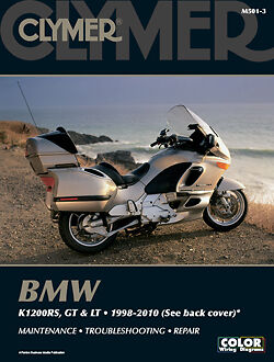 BMW K1200RS K1200GT K1200LT K1200 1998-2010 Clymer Manual M501-3 NEW