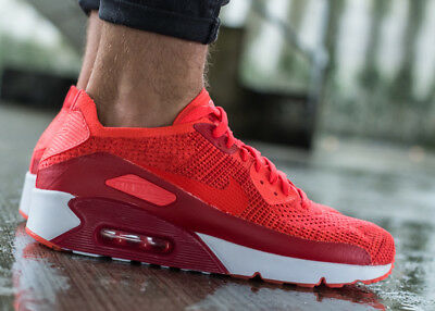 finest selection 7b7e9 1c939 NIKE AIR MAX 90 ULTRA 2.0 FLYKNIT sneaker chaussures hommes sport 875943-600