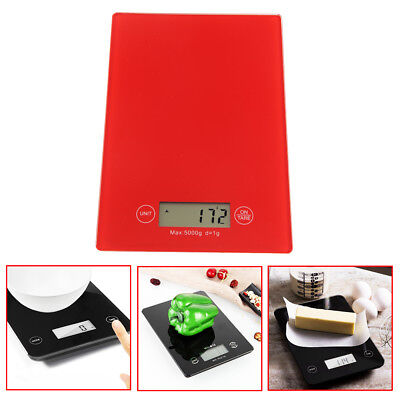 5 Kg Digital LCD Electronic Glass Kitchen Scales Cooking Food Postal Weighing Ne