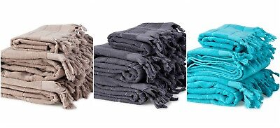 NEW Bath Towel + Hand Towel Pack High Quality 100% Pure Turkish Cotton - 3 PACK