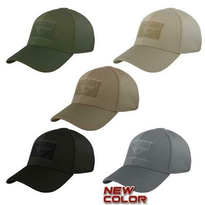 Condor Flex Tactical Hat   Military Cap With Patch Panel