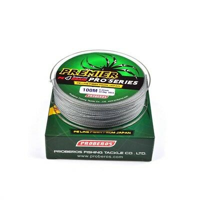 100M Fishing Line 8LB-100LB Strong PE Braided Fishing Line Abrasion Resistance
