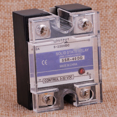 SSR-40A DD DC 5-150V 3-32V Solid State Relay for Automatic Temperature Control