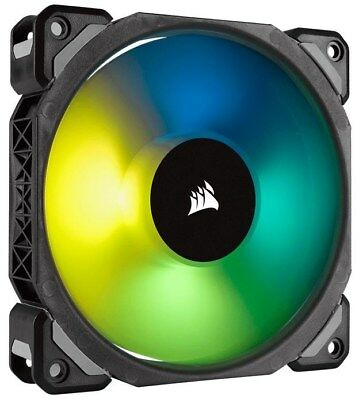Corsair ML Series ML120 Pro RGB LED Magnetic Levitation Fan (120mm) - Single
