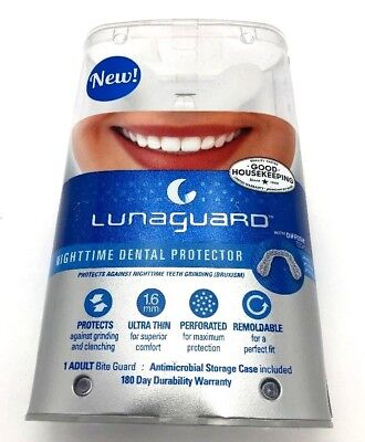 New LunaGuard Mouthguard Bruxism Teeth Grinding Ultra Thin Remoldable