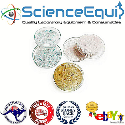 GLASS PETRI DISH PREMIUM BOROSILICATE 3.3 With COVER 100mm*15mm, 4pcs/pack