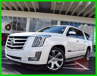 Cadillac Escalade ~~ LUXURY ~~ BEST COLOR COMBO ~~ LIKE NEW ~~ 2015 Luxury Used 6.2L V8 16V Automatic RWD SUV Bose Moonroof OnStar