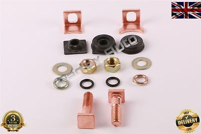 Starter Solenoid Contact Repair Kit Set for Kia Hyundai Land Rover