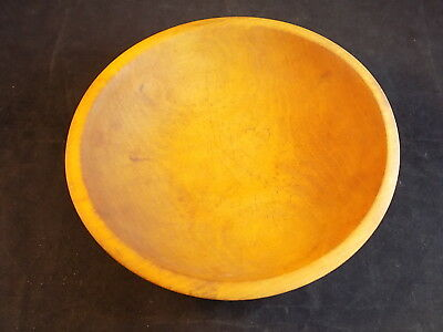 """Vintage 1930's MUNSING Small WOODEN DOUGH BOWL Oval serving bowl 6.5"""""""