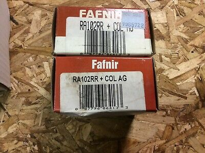 30 day warranty free shipping lower 48 FAFNIR-Bearings #RA112RR+COL AG
