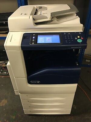 Xerox Workcentre 7220 All-In-One Printer Low Volume! (9K)