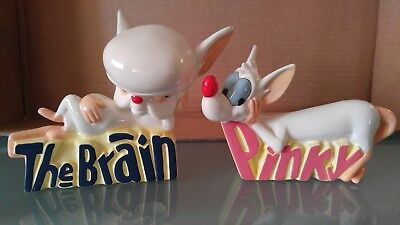 PINKY & THE BRAIN Porcelain Figures Warner Brothers Animaniacs 1994